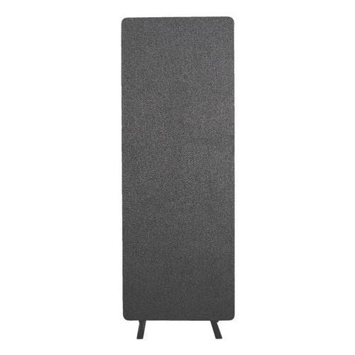Akustik-Raumteiler »Luxor« Einteilig grau, Luxor, 61x168x3 cm