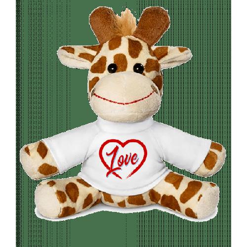 Heart Love - Giraffe