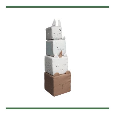 FABELAB - Animal Family Soft Toy Blocks