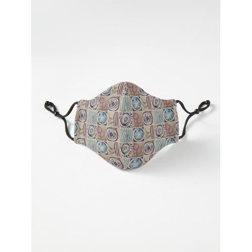 Seeglasfliesen Maske