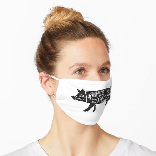 Schweineschnitte Maske