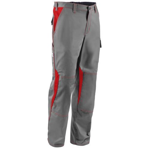 Kübler Arbeitshose Image Dress New Design, mit 2 Seitentaschen grau Herren Arbeitshosen Arbeits- Berufsbekleidung