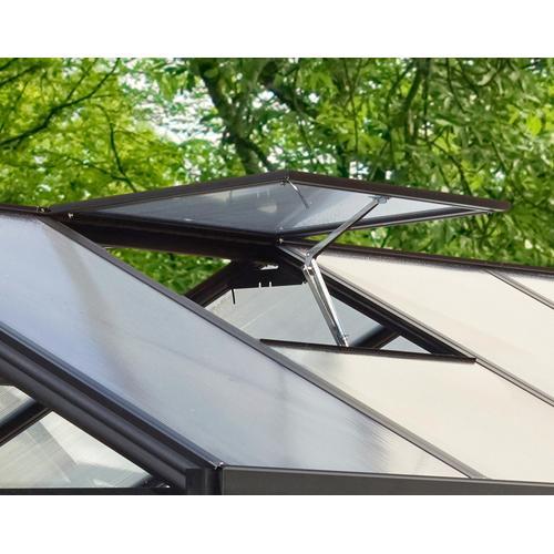 Vitavia Dachfenster, ohne Verglasung, schwarz grün Fenster Bauen Renovieren Dachfenster