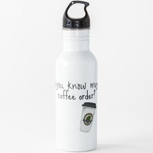 Grande fettfreier Mokka Wasserflasche