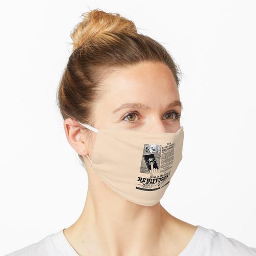 REDIFFUSION RADIOS - ANZEIGE Maske