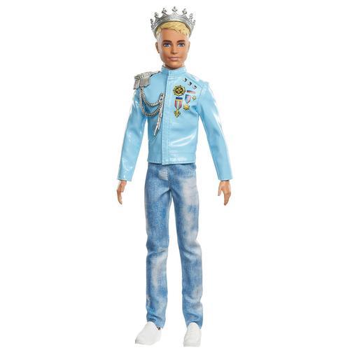 Mattel Barbie Prinzessinnen Abenteuer Prinz Ken Puppe Anziehpuppe Modepuppe
