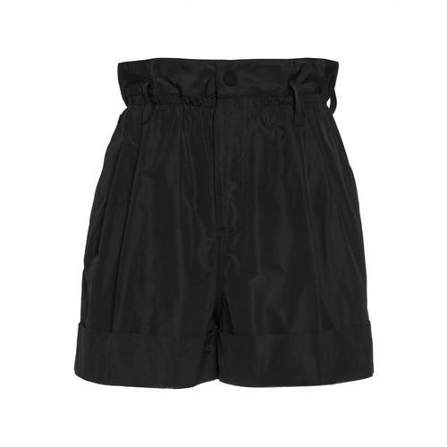 Moncler Damen Short in Nylon Schwarz