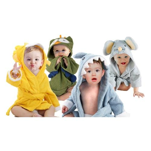 Bademantel für Babys: Hai / 1