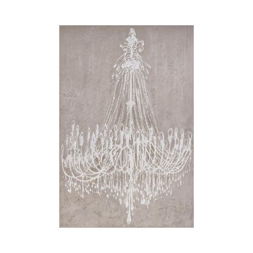 """die Faktorei Wandbild """"Kristalllüster"""" 100x150 cm"""