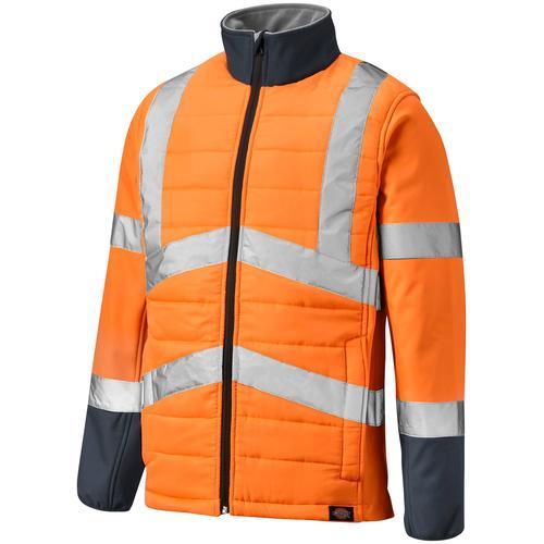 Dickies Arbeitsjacke LOUDON, mit Reflexstreifen orange Herren Arbeitsjacken Arbeitsoberbekleidung Arbeits- Berufsbekleidung