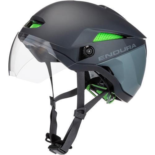 Endura Speed Pedelec Helm Fahrradhelm in grau, Größe M/L