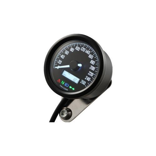 Daytona Velona60 Tachometer 260 km/h schwarz