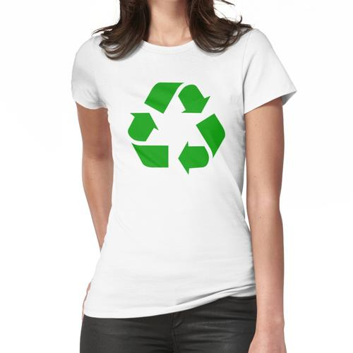 Recycling Recycling-Logo Frauen T-Shirt