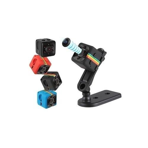 1x Mini-Überwachungskamera mit Infrarot-Nachtsicht: Rot