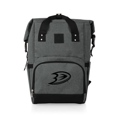 """""""Anaheim Ducks On The Go Roll Top Backpack"""""""