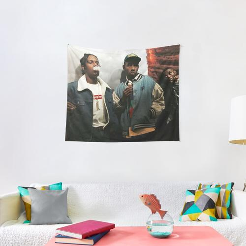Tyler And Rocky Wall Tapestry