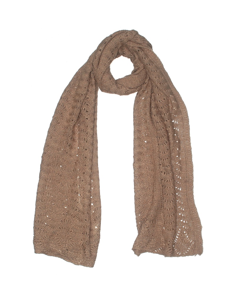 Wendy Williams Scarf: Tan Solid Accessories