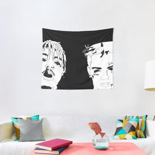 Evil Twins Wall Tapestry