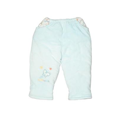 Assorted Brands Snow Pants - Elastic: Blue Sporting & Activewear - Size 90