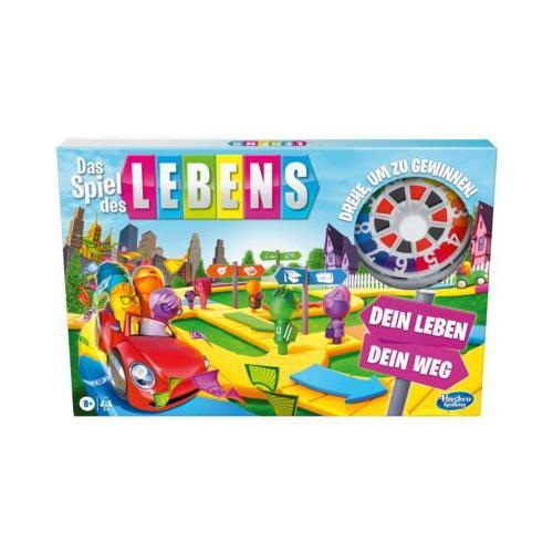 Das Spiel des Lebens, Brettspiel die ganze Familie 2 – 4 Spieler, Kinder ab 8 Jahren, mit Stiften in 6 Farben Kinder