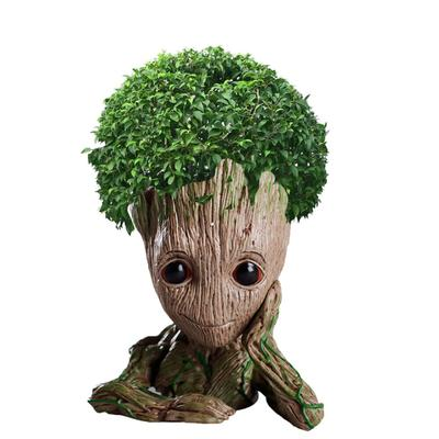 Pot de fleurs Groot créatif en f...