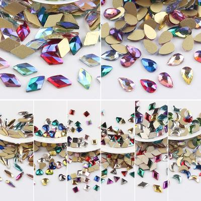 Strass en verre pour Nail Art 3D...