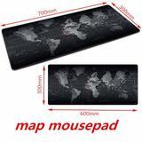Grand tapis de souris en caoutch...