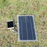 Kit panneau solaire 12v 10w 5v u...