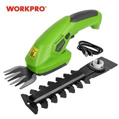WORKPRO – taille-haie électrique 2 en 1 3.6V, outils de jardinage sans fil, Lithium-ion, taille-haie