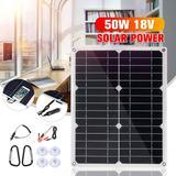 Panneau solaire 50W 18V, double ...