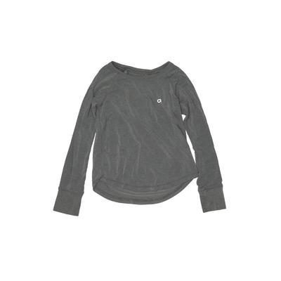 Gap Fit Active T-Shirt: Gray Sol...