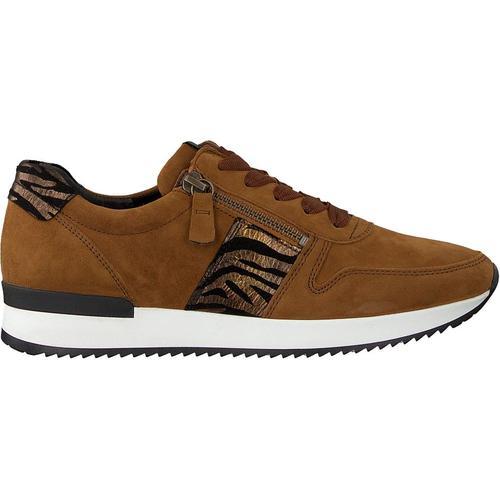 Gabor Cognacfarbene Sneaker Low 420
