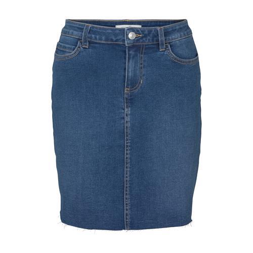 TOM TAILOR DENIM Damen Mini Jeansrock, blau, Gr.XL