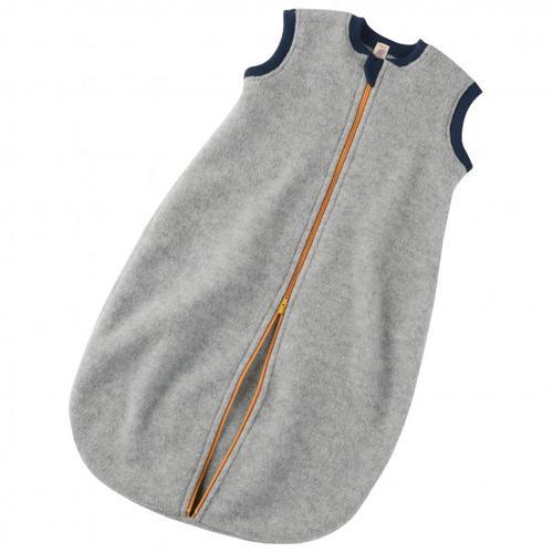 Engel - Baby-Schlafsack mit Reißverschluss - Kinderschlafsack Gr 86/92 Grau