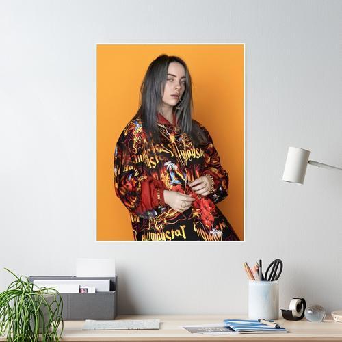 oversize eilish Poster