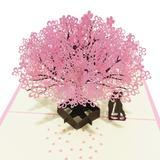 Carte Pop-UP 3D pour mariage, ar...