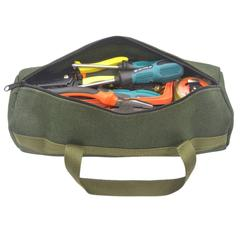 Sac à outils en toile multifonctionnel, pratique, Texture classique, matériel, tournevis, clé, kit