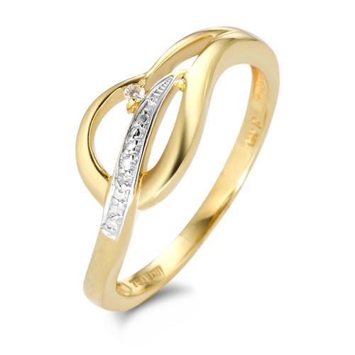 Ring Gold mit Diamanten
