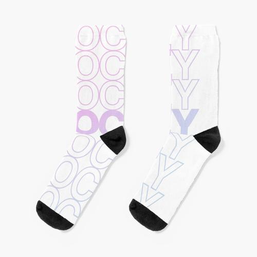Eishockey. Eishockey. Eishockey. (Pastell) Socken