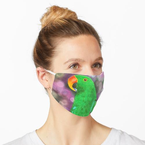 Eclectus Maske