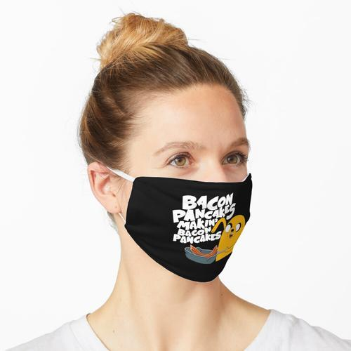 Bacon-Pfannkuchen Maske