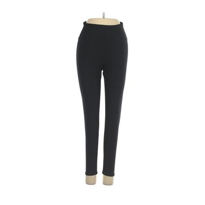 Bally Total Fitness Active Pants - Mid/Reg Rise: Black Activewear - Size Small