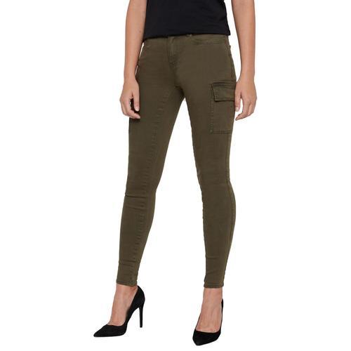 Noisy May Lucy NW Utility Pants Damen-Cargohose - oliv