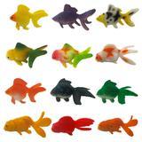 Figurine de poisson rouge réalis...