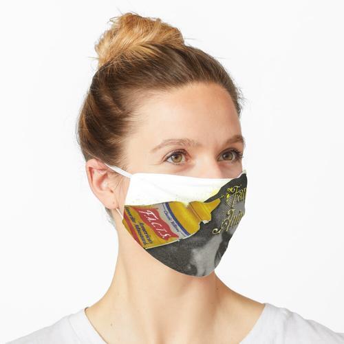 Ausgefallener Senf Maske
