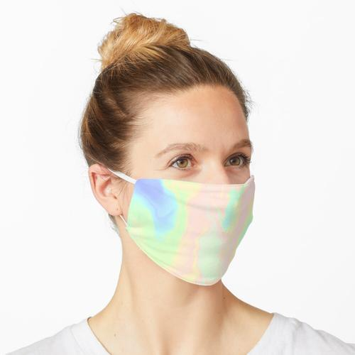 Fluoreszierende Farbe Maske