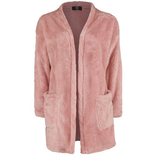 RED by EMP Rosa Cardigan aus flauschigem Material Damen-Cardigan - rosé