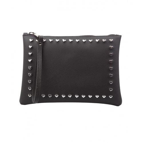 Gum Damen Beauty Bag mit Nieten Schwarz
