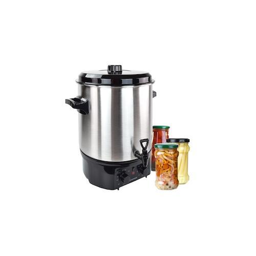 Einkochautomat Glühweinkocher 27 Liter Edelstahl