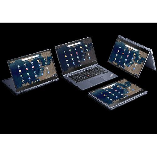 Lenovo ThinkPad C13 Yoga Chromebook Enterprise AMD® Athlon Gold 3150C Prozessor 2,40 GHz, bis zu 3,30 GHz, 2 Kerne, 4 Threads, 1 MB Cache L2 , 4 MB Cache L3, Chrome OS, 64 GB eMMC